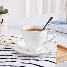 Golden Top Grade <b>Bone China Coffee</b> Cup <b>European</b> Tea Cup Set ...