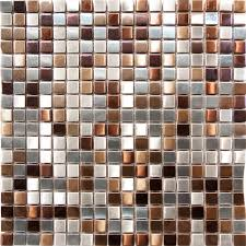 kitchen backsplash stainless steel tiles: