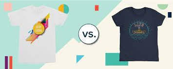 <b>Heat Transfer</b> Paper vs. Sublimation Printing