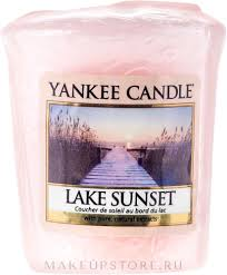 Yankee Candle Scented Votive <b>Lake</b> Sunset - <b>Ароматическая</b> ...