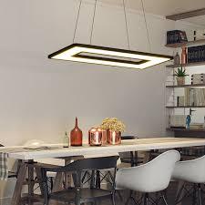 <b>Modern led pendant</b> lights for dining room living room Acrylic ...