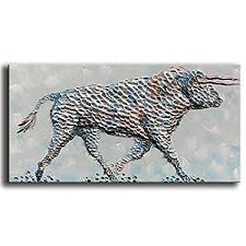 YaSheng Art -100% Hand-Painted Oil Painting on ... - Amazon.com