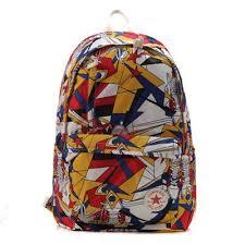 <b>Backpack</b> men and women outdoor student <b>bag</b> ONE <b>STAR canvas</b> ...