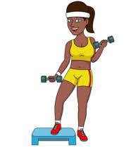 """Résultat de recherche d'images pour """"clipart girl gym"""""""