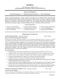 sample resume manufacturing a gifproduct manufacturing resume example