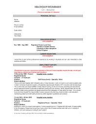 objective for resume for nursing  template objective for resume for nursing