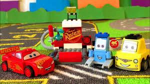 Лего Тачки 3 Молния Маквин Пит Стоп Мультики про Машинки ...