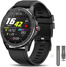 <b>TICWRIS RS Smart Watch</b> for Android iOS, Ultra Thin 9mm: Amazon ...