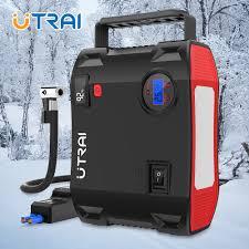 <b>UTRAI 4</b> IN 1 Car <b>Jump Starter</b> Power Bank 24000mah 2000A with ...