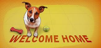 Image result for dog welcome home