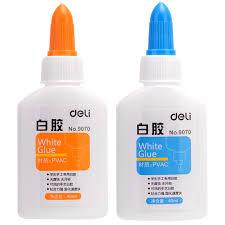 <b>40ml</b> Deli student's hand products <b>white glue</b>, no methanol pollution ...