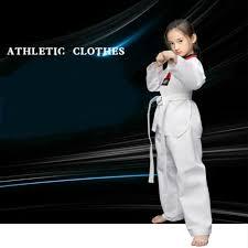 White Taekwondo New Arrivals Product <b>Adult child</b> kids <b>Breathable</b> ...