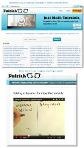 top 10 math websites for parents and kids top 10 math website called patrick jmt