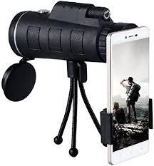 <b>40 x 60 Monocular</b> Telescope HD Monocular with Mobile: Amazon ...
