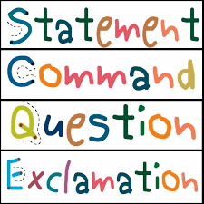 Resultado de imagen para commands and exclamations