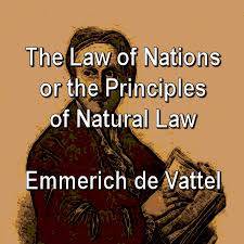 Image result for vattel's law of nations