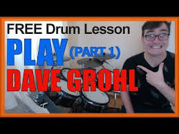 """<b>Play</b>"" (<b>Dave Grohl</b>) MINI-SONG LESSON – Free Video Drum ..."