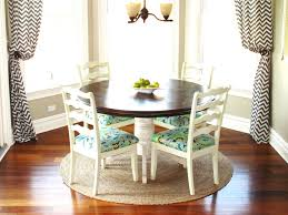 small breakfast nook table with four chair seating arrangement breakfast nook table