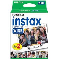 <b>Fujifilm</b> Colorfilm INS <b>Wide Glossy 10</b>/<b>2PK</b> | Photo Paper | Photo ...