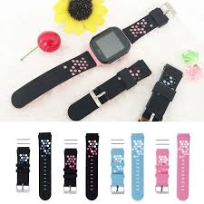 Children's <b>Smart</b> Wristband <b>Replacement Silicone</b> Wrist Strap For ...