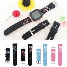 Children's Smart Wristband <b>Replacement Silicone Wrist</b> Strap For ...