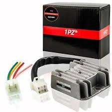 4 Wires <b>Voltage Regulator</b> Rectifier for <b>Motorcycle Boat</b> ATV GY6 50 ...