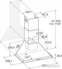 Кухонная <b>вытяжка Hotpoint-Ariston 7HHPN</b> 6F AM AN купить в ...