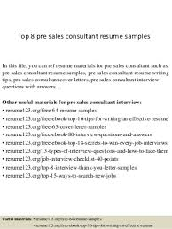 Pre Sales Consultant   LinkedIn