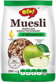Ого! Мюсли <b>запеченные с яблоком</b>, 350 г   Food, Muesli, Snack ...