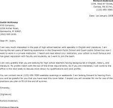 Teacher Cover Letter Format  job interview thank you letter