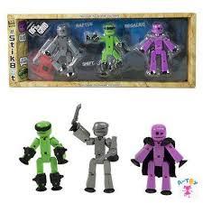 <b>Stikbot</b> TST614R <b>Стикбот 3 фигурки Stikbot</b> Off the Grid, Raptus
