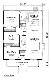 Bungalow Cottage Country Traditional House Plan   House    Bungalow Cottage Country Traditional House Plan   House plans  Floor Plans and Cottages