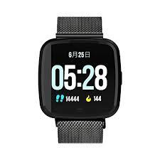 DTNO.I Sport Smart Watch Square Fitness Tracker ... - Amazon.com