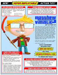 the most awesomely creative resumes ever the magnet 8 action toy resume