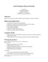 interior resume s interior design lewesmr sample resume resume cover letter middot interior