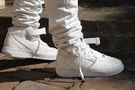 nike air force ones air force ones and force one on pinterest air force crocodile white