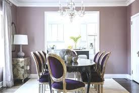 purple dining room lilac