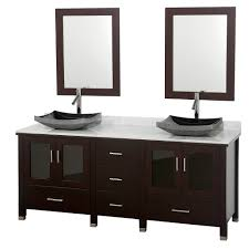 55 inch double sink bathroom vanity: modern double sink bathroom vanity wyndham collection lucy  bathroom vanity