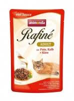 <b>Animonda Rafine Adult</b> Cat - Turkey & Veal Plus Cheese <b>Паучи</b> для ...