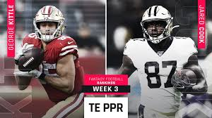Week 3 Fantasy PPR Rankings: Tight end | Sporting News