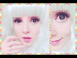 how to look like a living doll makeup tutorial
