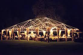 backyard wedding reception for a more faithful ceremony backyard wedding lighting