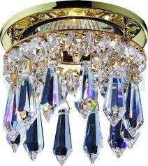 <b>Встраиваемый светильник Novotech</b> 369331, золотой — купить в ...