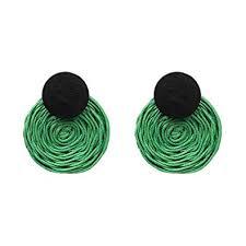 Sceneruo women's <b>chic earrings</b> Handmade <b>Drop Earrings</b> For ...