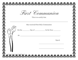 certificate maker coloring page wanocolorhd first holy communion certificates printable gift certificate templates fashion 3 per page dotxes