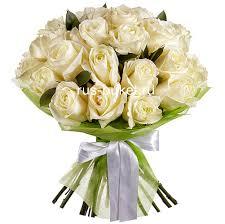 «<b>Букет</b> из 25 <b>белых роз</b>» - заказать и купить за 2 460 руб с ...