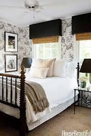 black white bedroom a glamorous farmhouse design by tobi tobin black white home office cococozy 5