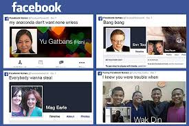 "10 Funniest ""Facebook Name"" Memes | News+Features | Spot.ph: Your ... via Relatably.com"