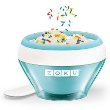 <b>Мороженица Ice Cream Maker</b> голубая от Zoku (арт. ZK120-LB ...