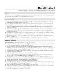 Resume Examples For Medical Sales     BORH